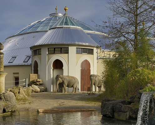 Hahner Hahner Sonerbauten - Elefantenhaus
