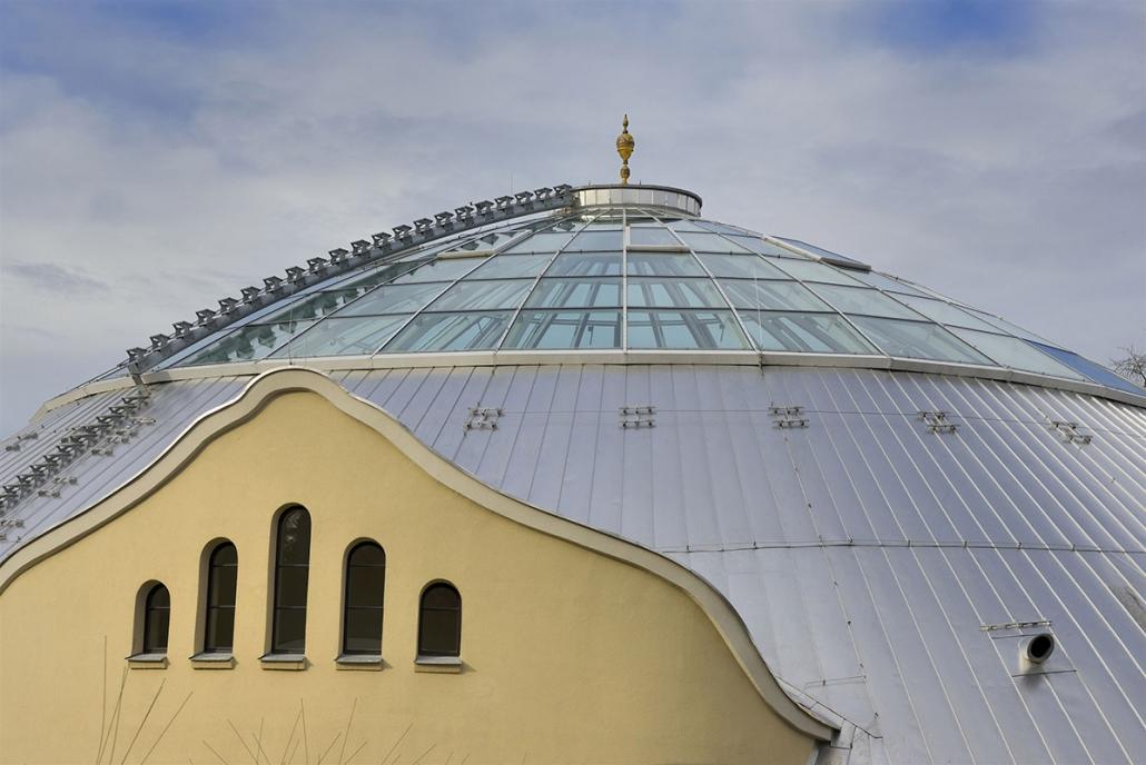 Sonderbauten – Elefantenhaus Hellabrunn Dach