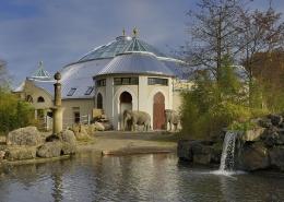 Sonderbauten – Elefantenhaus Hellabrunn Vorne