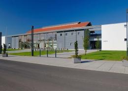 Stahlbau – Lüderhaus Außenansicht