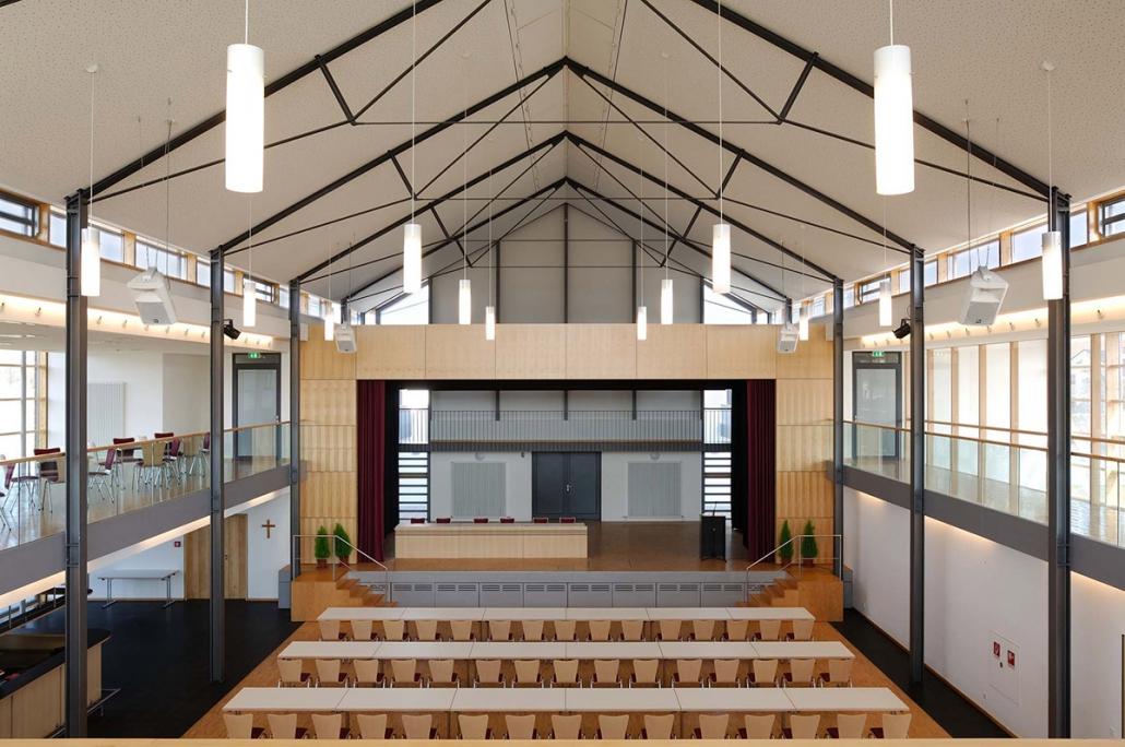 Stahlbau – Lüderhaus Innenansicht