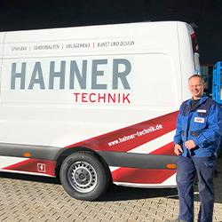 Hahner Technik – Moderne Montagefahrzeuge
