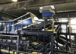 Hahner Anlagenbau – Abfallsortieranlage