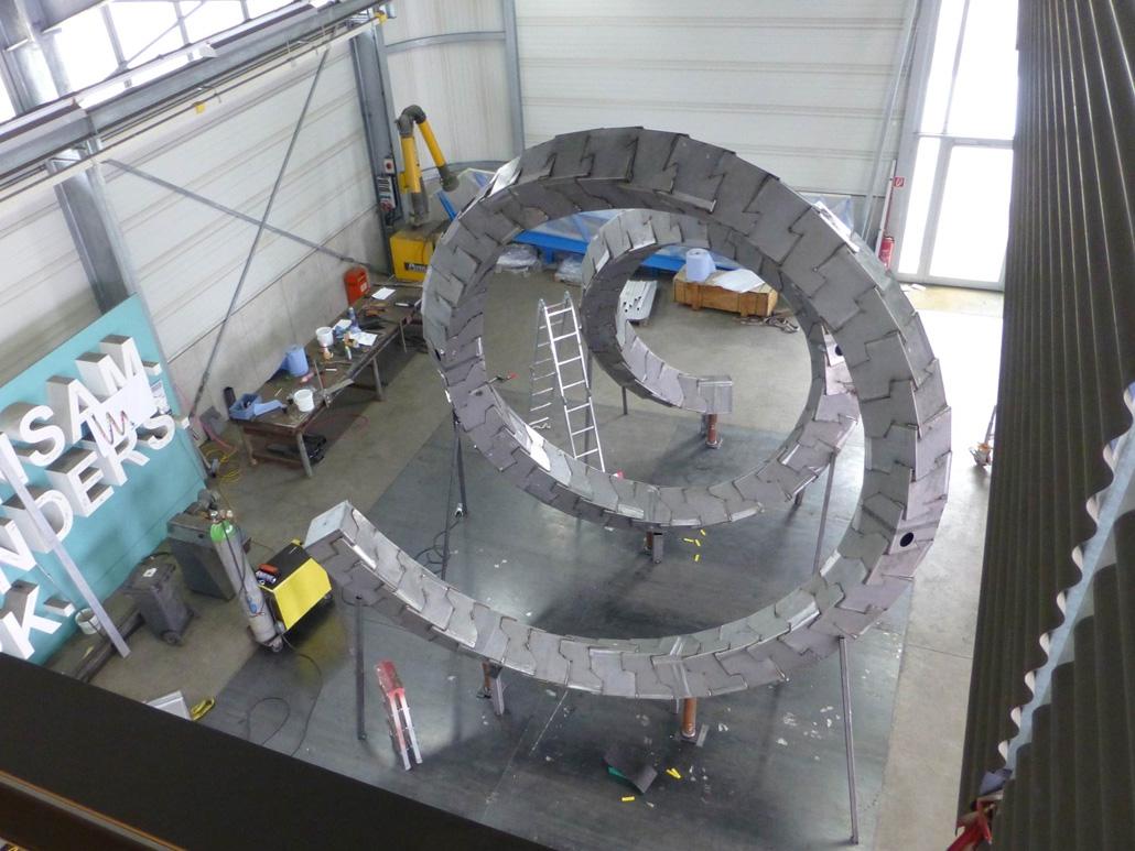 Hahner Kunst und Design – Cube Spiral Produktion