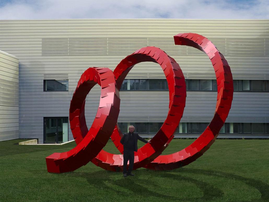 Hahner Kunst und Design – Cube Spiral mit Prof. HD Schrader