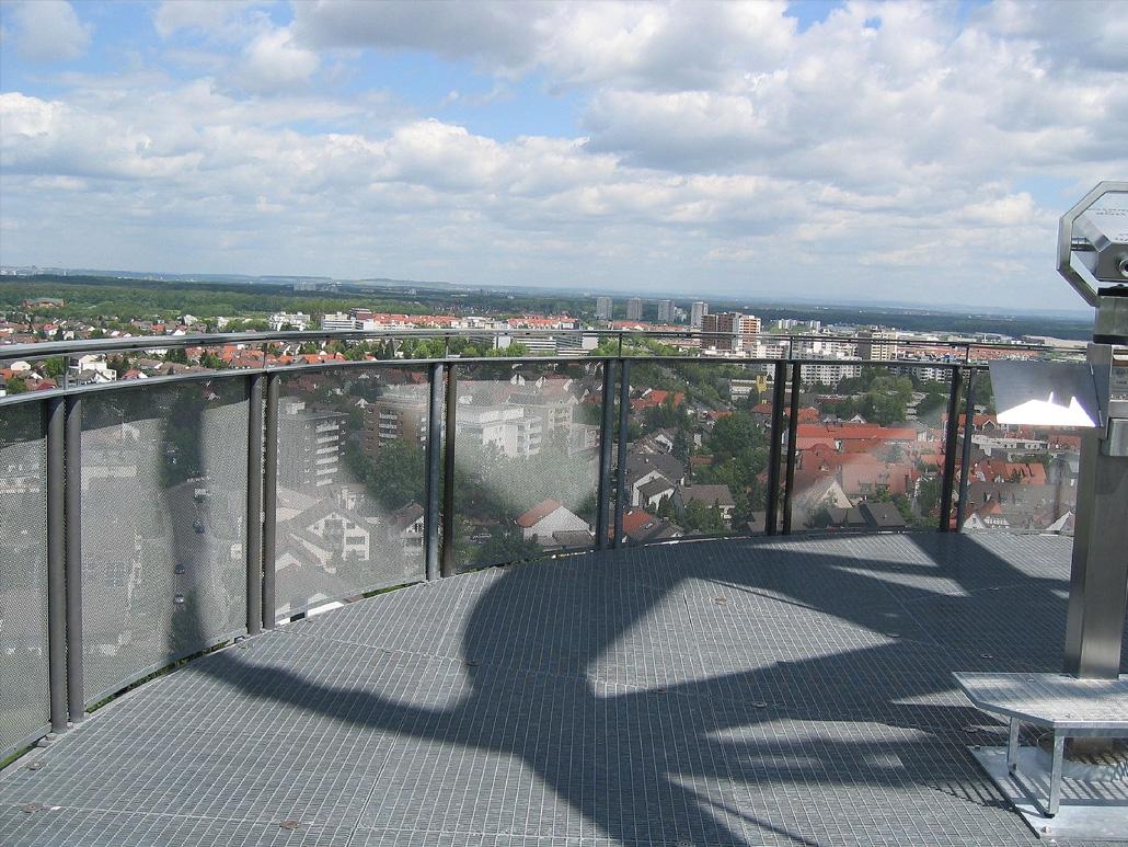 Hahner Sonderbauten – Hessentagsturm Aussicht