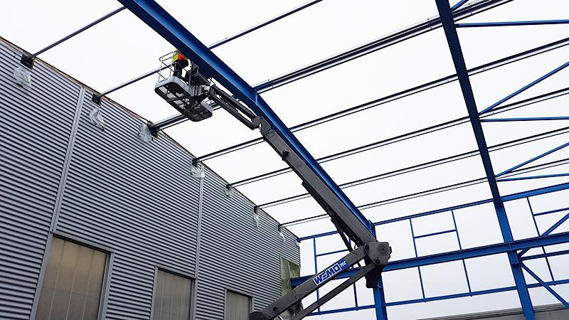 Hallenbau Herbert Hünfeld Befestigung – Hahner Technik