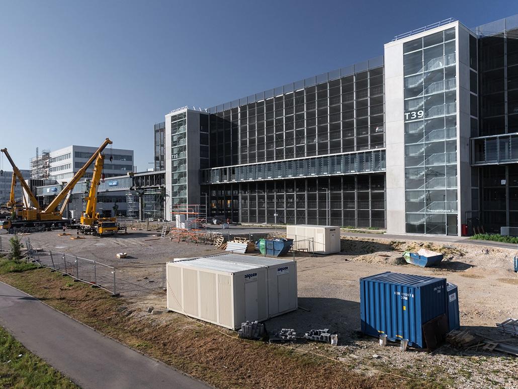Hahner Stahlbau – Audi Ingolstadt