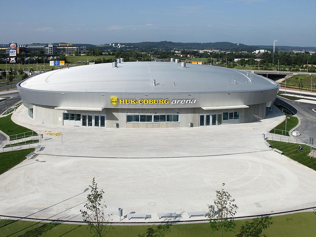 Hahner Stahlbau – HUK Coburg Arena
