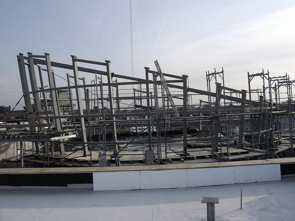 Hahner Stahlbau – Rotunden aus Stahl und Glas Oldenburg schräg
