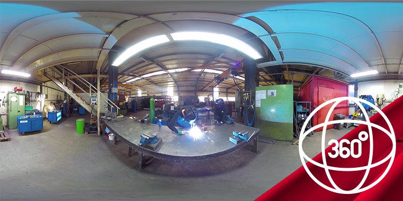 360-Grad-Video Ausbildung zum Metallbauer bei Hahner Technik