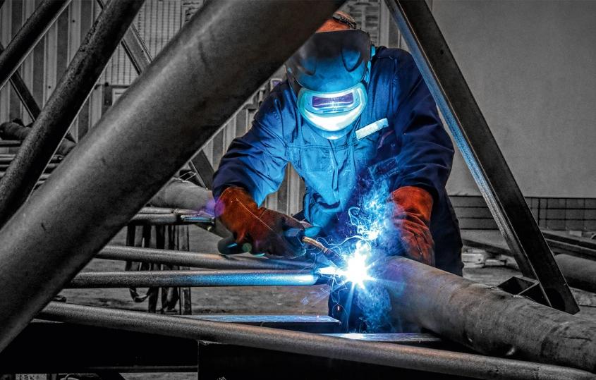 Hahner Technik – Stahlbau-Infotage Schweißer – Bernhard Hahner